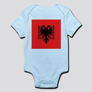 Flag of Albania Body Suit