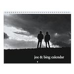 Joe & Bing Wall Calendar