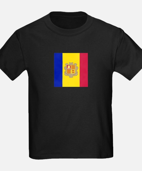 Flag of Andorra T-Shirt