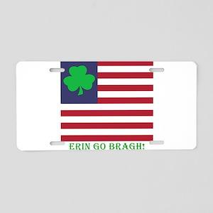 Erin Go Bragh #2 Aluminum License Plate