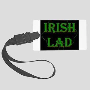 Irish Lad Luggage Tag