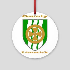 County Limerick COA Ornament (Round)
