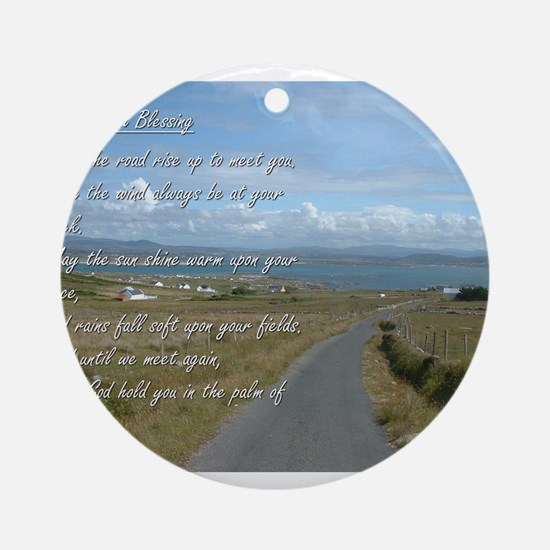 Old Irish Blessing #1 Ornament (Round)