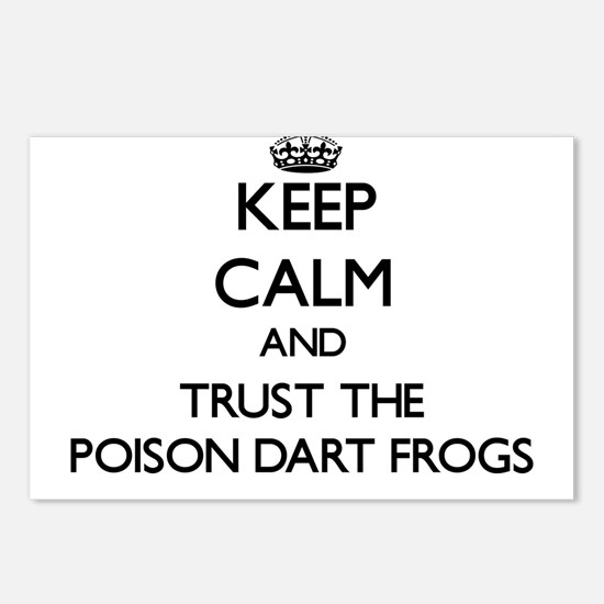 Keep calm and Trust the Poison Dart Frogs Postcard