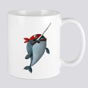 Pirate Narwhals Mugs