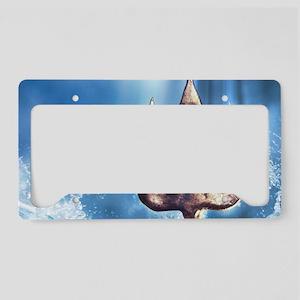 Poseidons Trident License Plate Holder