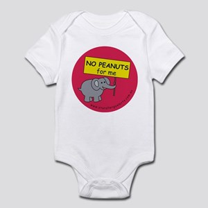 NO PEANUTS for me - allergy a Infant Bodysuit