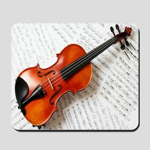 Violin Musician Mousepad