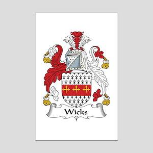 Wicks Mini Poster Print