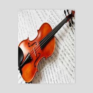 Violin Musician Twin Duvet