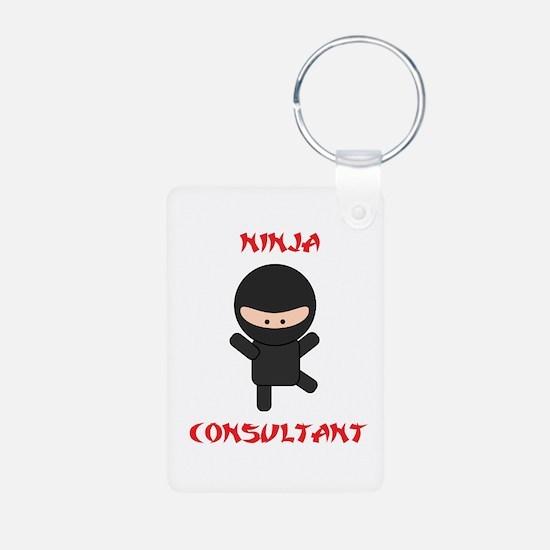 Ninja Consultant Keychains