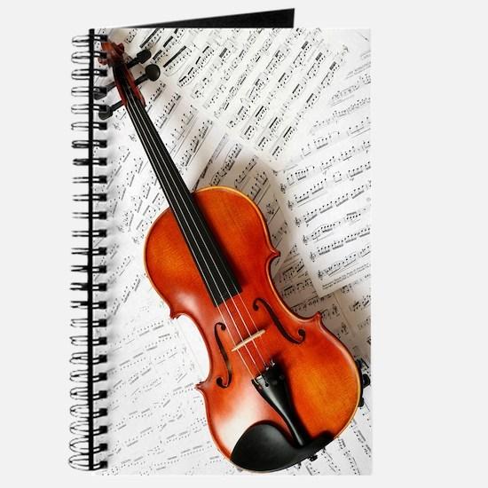 Violin Musician Journal