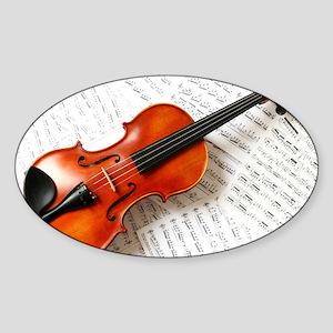 Violin Musician Sticker