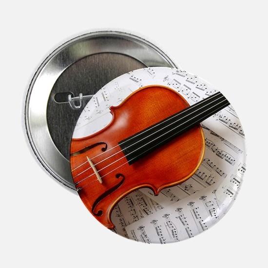 """Violin Musician 2.25"""" Button"""