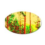 Sunny forest Wall Decal