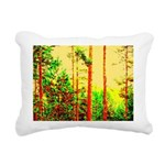 Sunny forest Rectangular Canvas Pillow