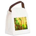Sunny forest Canvas Lunch Bag