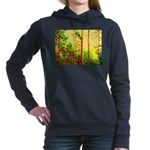 Sunny forest Women's Hooded Sweatshirt