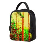Sunny forest Neoprene Lunch Bag