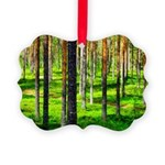 Pine forest Ornament
