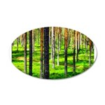 Pine forest Wall Decal