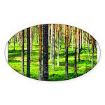 Pine forest Sticker