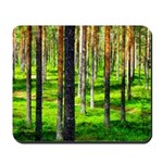 Pine forest Mousepad