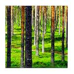 Pine forest Tile Coaster