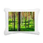 Pine forest Rectangular Canvas Pillow