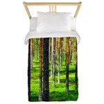 Pine forest Twin Duvet