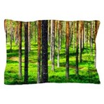 Pine forest Pillow Case