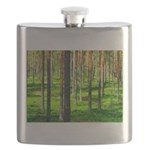 Pine forest Flask