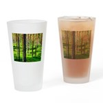 Pine forest Drinking Glass
