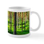 Pine forest Mugs