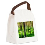 Pine forest Canvas Lunch Bag