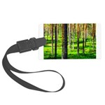 Pine forest Luggage Tag