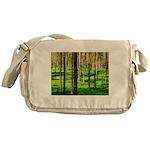 Pine forest Messenger Bag