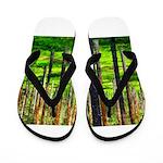 Pine forest Flip Flops