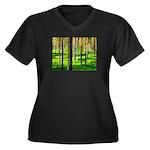 Pine forest Plus Size T-Shirt