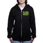 Pine forest Women's Zip Hoodie