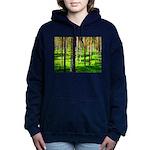Pine forest Women's Hooded Sweatshirt