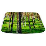Pine forest Bathmat