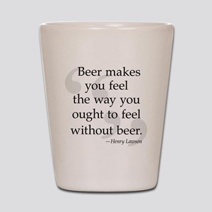 Beer Quote Shot Glass