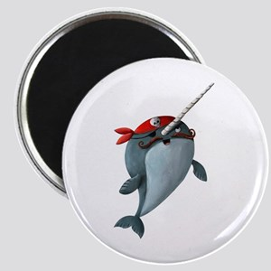 Pirate Narwhals Magnets
