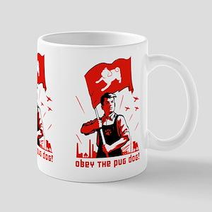 Pug Dog Patriotism -Mug