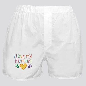 i luv mom Boxer Shorts