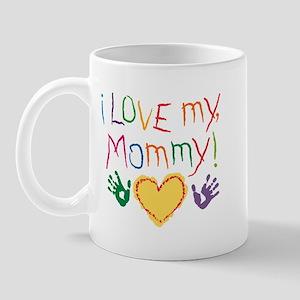 i luv mom Mug