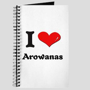 I love arowanas Journal
