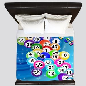 Bingo Balls King Duvet