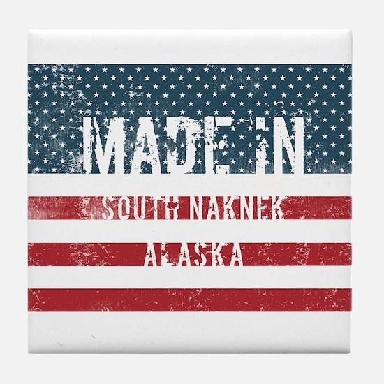 Made in South Naknek, Alaska Tile Coaster